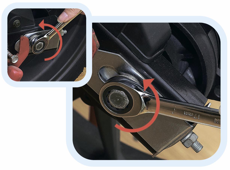 ключи комбинированные с храповым механизмом
